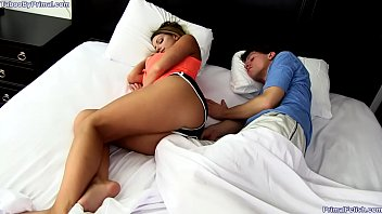 Sharing Bed With Stepmom  HD
