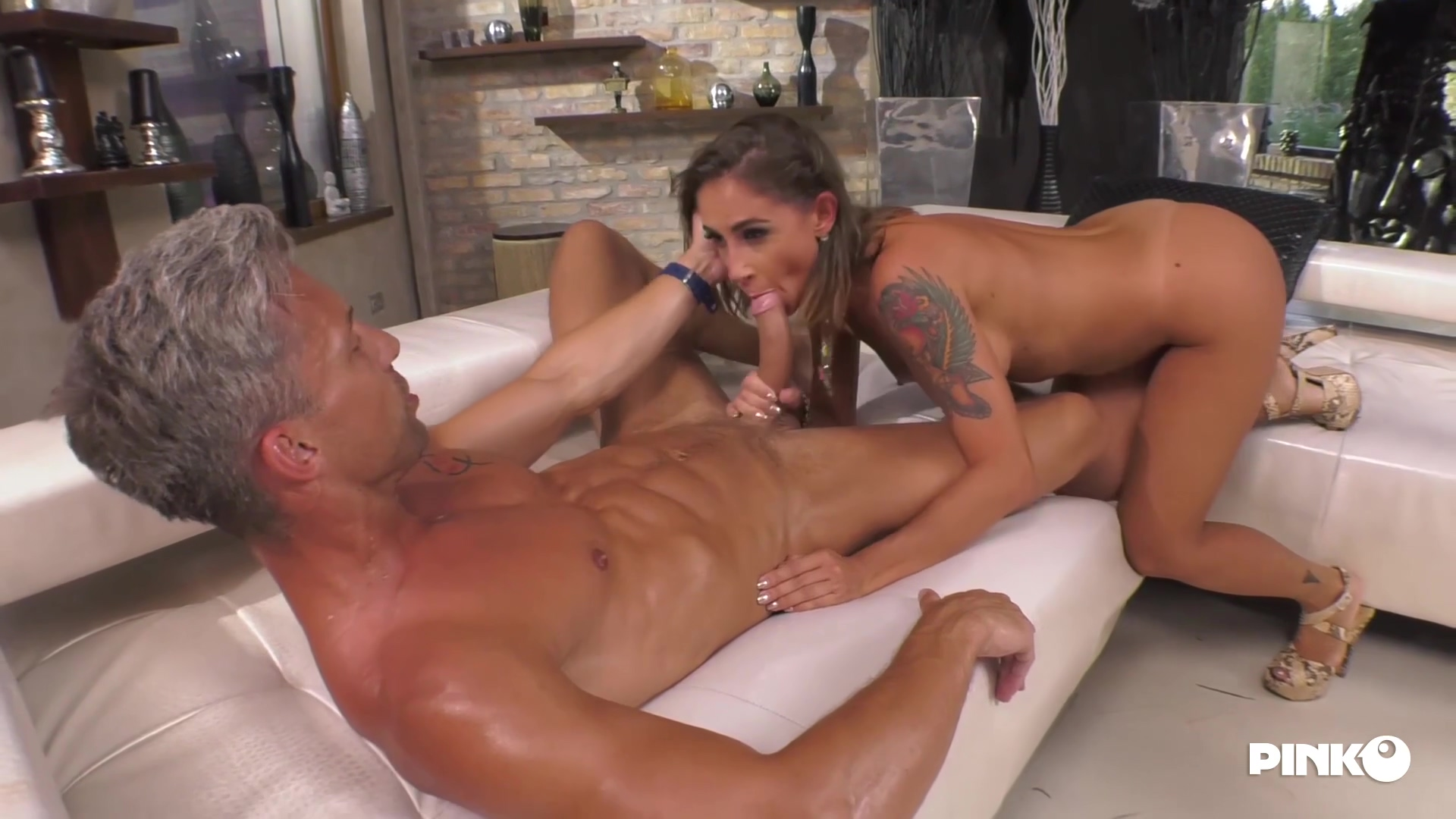 MalenaLaPugliese – With Two Cocks In The Ass Malena Sel